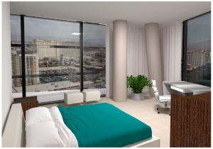 Veer Towers Bedroom