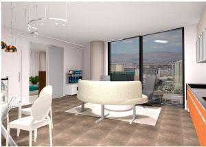 Veer Towers Living Room