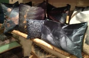 Luxury Velvet Blue Pillows