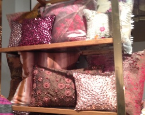 Luxury Coral Pillows