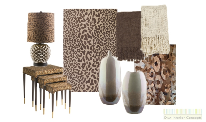 Leopard Prints in Home Decor