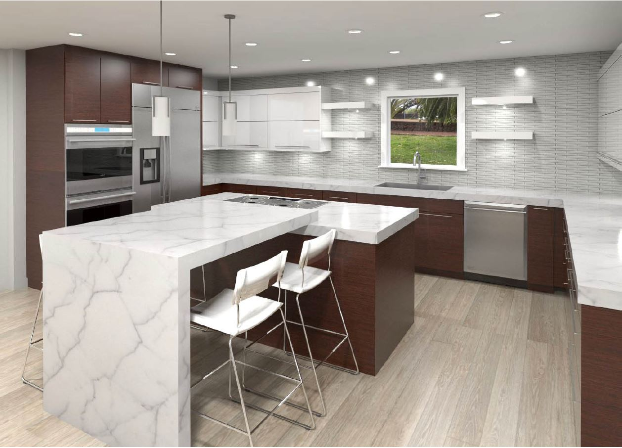 Modern Cabinets – Bellmont Style   Diva Interior Concepts